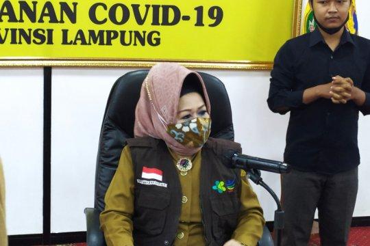 Kasus positif COVID-19 Lampung bertambah 11 total 615 kasus