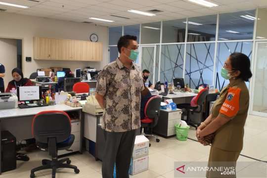 PSBB Jakarta, Sudin Nakertrans Jakpus sidak perkantoran di Sawah Besar