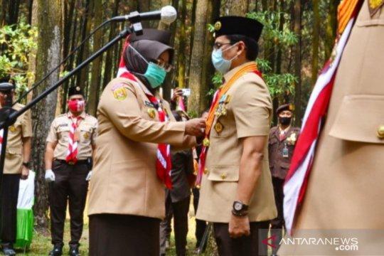 Bupati Ade Yasin ingin Pramuka Bogor lebih milenial