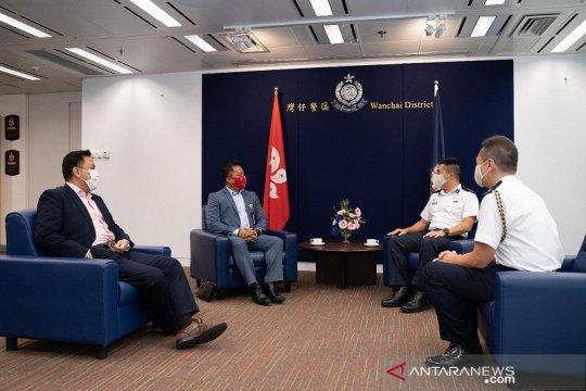 KJRI Hong Kong-Polisi Wanchai kerja sama lindungi PMI