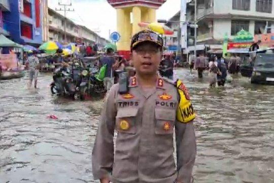 Satu Jembatan gantung di Melawi roboh diterjang banjir