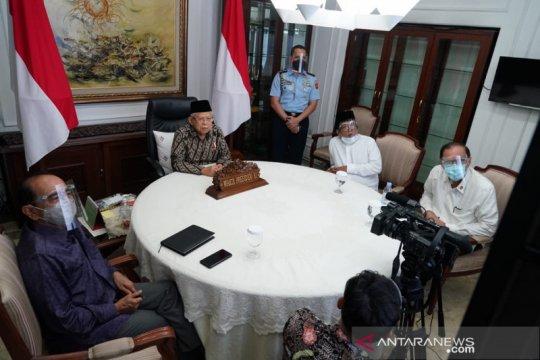 Ma'ruf Amin ajak negara OKI saling menguatkan pulihkan ekonomi dunia