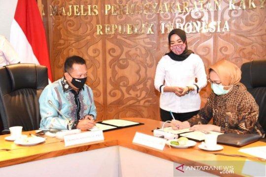 """MPR dan APEKSI tandatangani """"MoU"""" Sosialisasi Empat Pilar"""