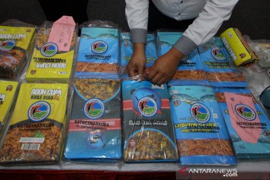 Polrestabes Surabaya sita sabu 28,8 kilogram