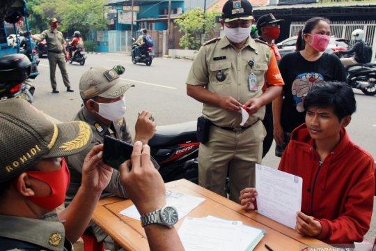 Satpol PP Jakarta Pusat jaring 4.634 pelanggar PSBB