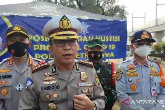 Polda Metro Jaya tiadakan ganjil genap selama PSBB Transisi