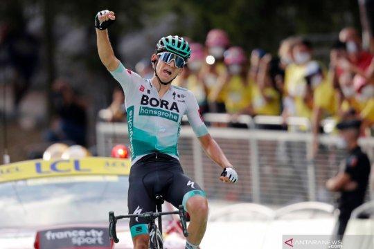Lennard Kamna jadi yang tercepat pada etape 16 Tour de France