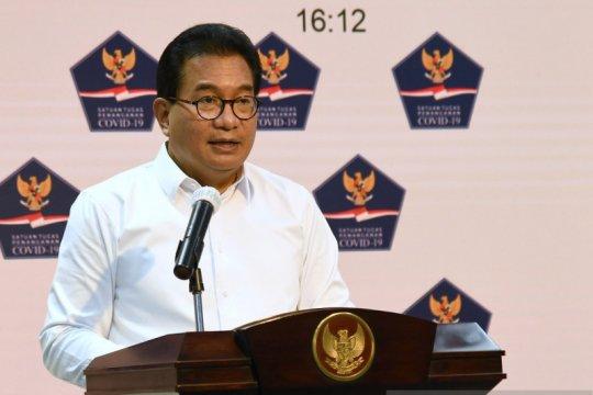 Presiden pantau langsung penanganan COVID-19 di 9 provinsi