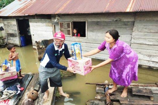 Bantuan korban banjir dua kecamatan di Seruyan dikirim melalui Kalbar