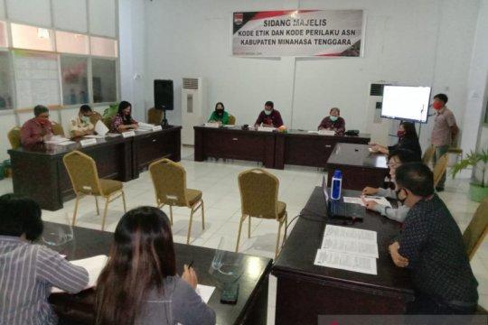 Tiga ASN di Minahasa Tenggara jalani sidang kode etik