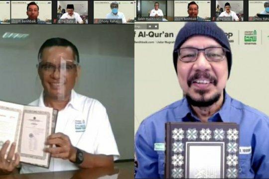 Yayasan Sinar Mas-Benihbaik.com-JNE ajak masyarakat donasikan Al Quran