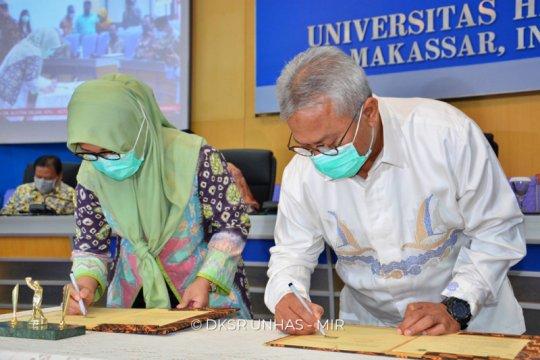 Universitas Hasanuddin sepakati kerjasama dengan tiga lembaga negara