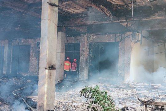 Kebakaran terjadi di GOR Saburai Bandarlampung