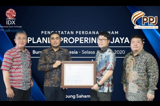 Planet Properindo Jaya resmi melantai di bursa