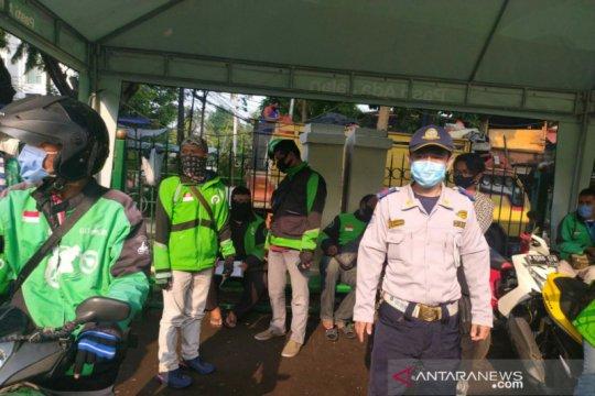 PSBB Jakarta, 400 personel diturunkan cegah kerumunan ojek daring