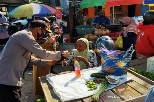 Polresta Banjarmasin lakukan operasi yustisi protokol kesehatan