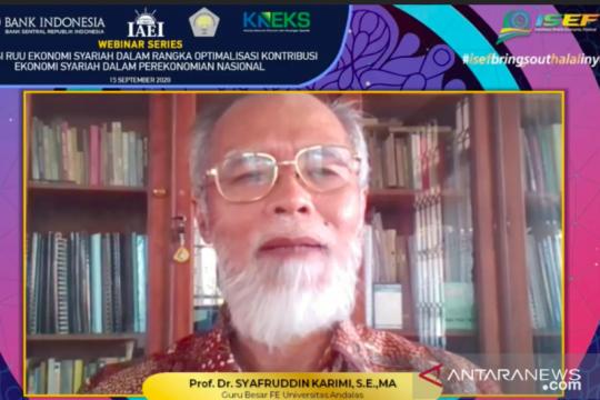 Guru Besar Unand : Indonesia harus jadi pelopor ekonomi halal