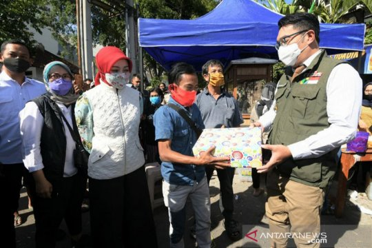 "Ridwan Kamil gandeng Ade Londok ""Odading"" promosikan kuliner Jabar"