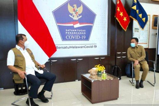 Bupati Bantaeng temui Kepala BNPB Pusat bahas penanganan banjir