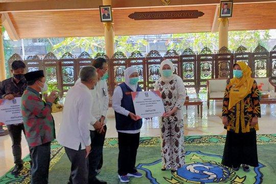 Gubernur Jatim salurkan ventilator kepada pengelola rumah sakit