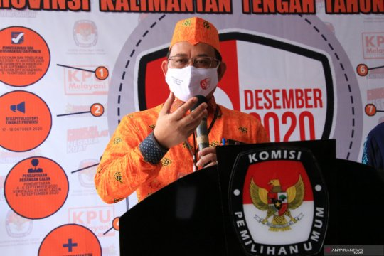 KPU Kalteng verifikasi berkas perbaikan syarat pendaftaran Ben-Ujang