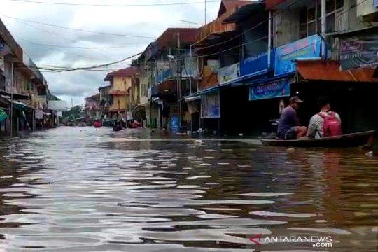 BNPB: 720 jiwa mengungsi akibat banjir di Melawi Kalbar