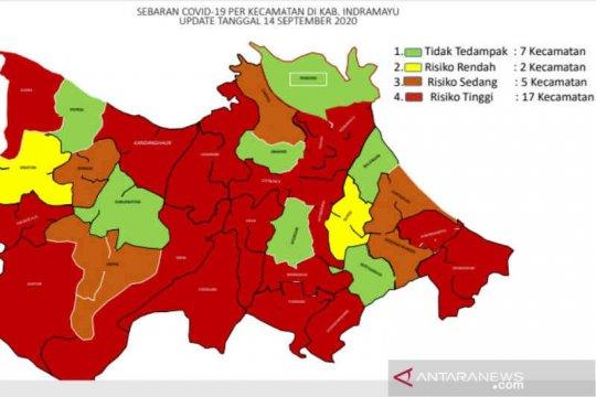 Tujuh kecamatan di Indramayu masih bebas COVID-19