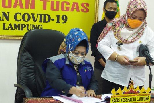 Kasus positif COVID-19 Lampung kembali bertambah jadi 666