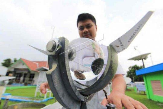 BMKG prakirakan kecepatan angin di wilayah Cirebon capai 56 KM/jam