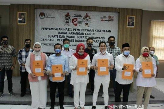 KPU Karawang: Tiga bakal paslon Pilkada 2020 memenuhi syarat