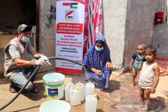 Dewan Masjid Indonesia bantu 1 juta liter air bersih warga Gaza