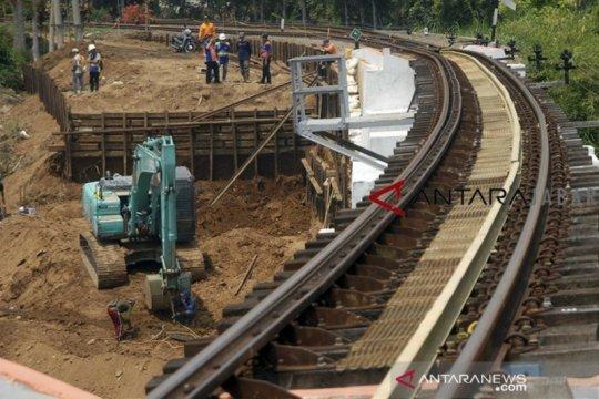 Jalur rel ganda KA Bogor-Sukabumi ditargetkan selesai Agustus 2021