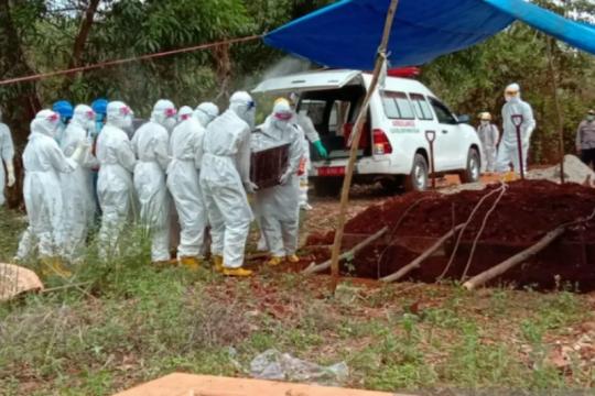 Pasien meninggal COVID-19 di Sultra tambah dua jadi 44 orang