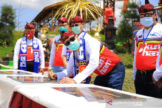 Menkumham resmikan sarana asimilasi dan edukasi di Kabupaten Malang