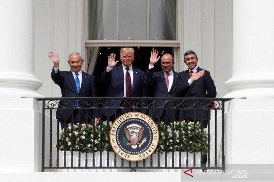 Gedung Putih: Lima negara pertimbangkan kesepakatan dengan Israel