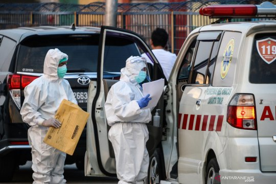 Indonesia sumbang 0,82 persen kasus COVID-19 dunia