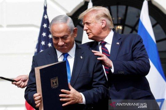 PM Netanyahu hapus Trump dari foto spanduk Twitternya