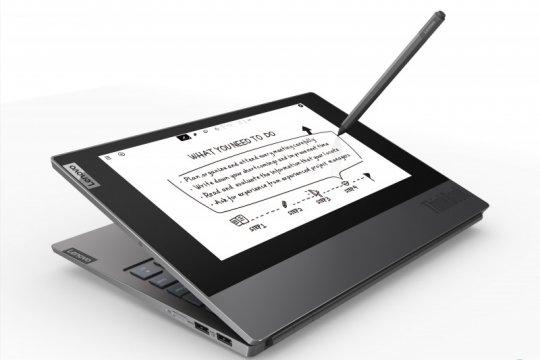 Lenovo rilis laptop layar ganda ThinkBook Plus
