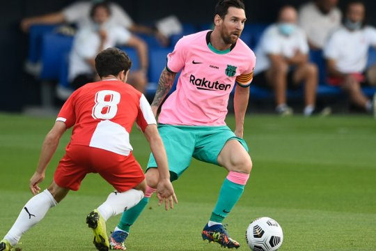 Messi sumbang dwigol saat Barca kalahkan Girona pada laga persahabatan