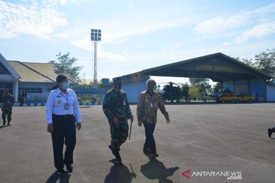 Pangkalan TNI AU Supadio dukung Kanwil Hukum dan HAM Kalimantan Barat