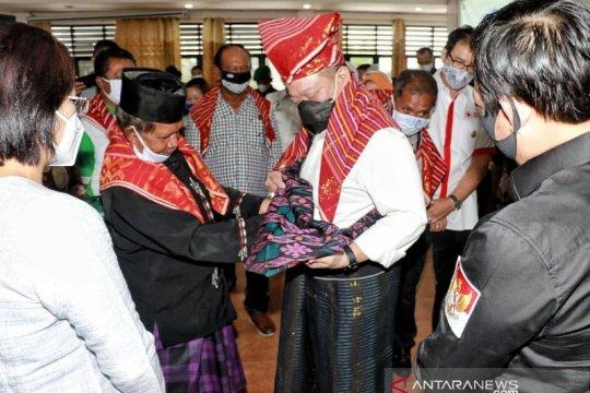 Ketua DPD RI AA LaNyalla dapat gelar marga Sitepu