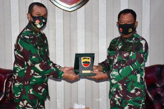 Kodam I/BB terima kunjungan perwira siswa Sesko TNI AL