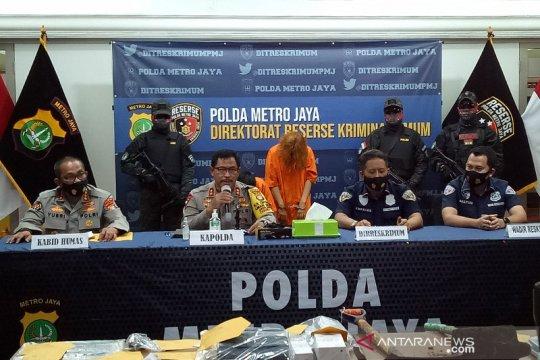 Polda Metro Jaya gelar rekonstruksi kasus pembunuhan dan mutilasi