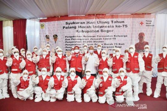PMI Bogor bentuk tim penanganan jenazah COVID-19 di 416 desa