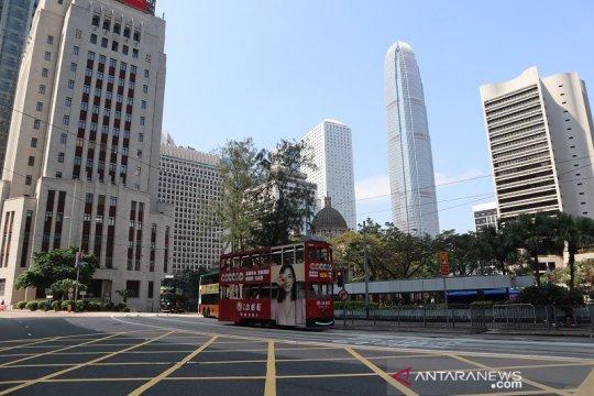 Kedatangan wisatawan ke Hong Kong turun hampir 100 persen