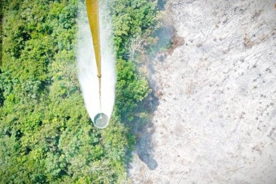 Helikopter dikerahkan atasi kebakaran lahan di Kotawaringin Timur