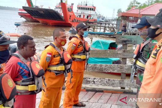 Tim SAR Asmat cari perahu berpenumpang empat orang