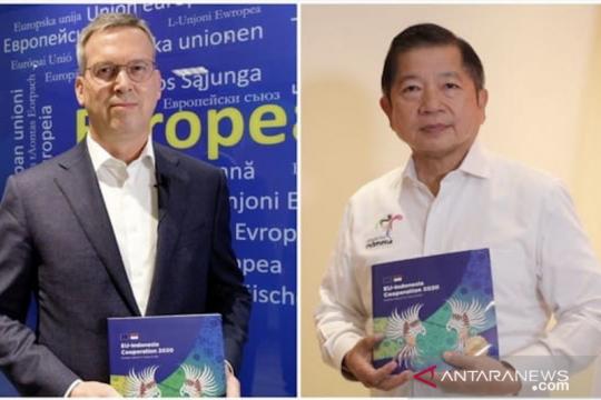RI, EU luncurkan publikasi tahunan, tegaskan komitmen kerja sama