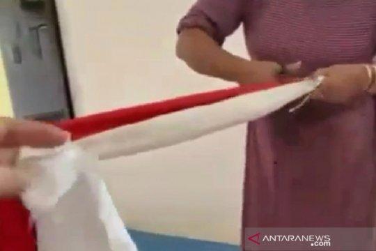 Polres Sumedang tetapkan tiga tersangka gunting bendera merah putih