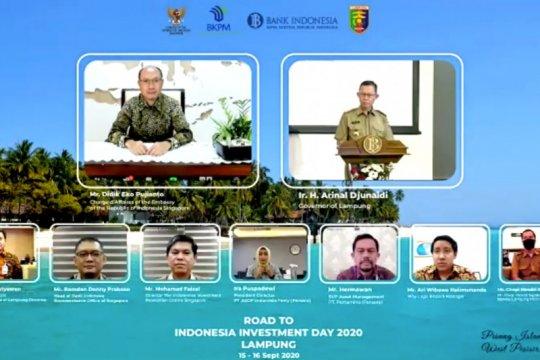 Lampung tawarkan tujuh proyek kepada investor Singapura